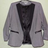 Стильный жакет/пиджак H&M размер 14/44, наш примерно 52.