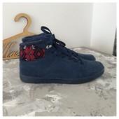 Замшевые высокие кроссовки ботинки Cropp pp 41
