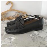 Новые кожаные туфли мокасины Howbut рр 46 Italy