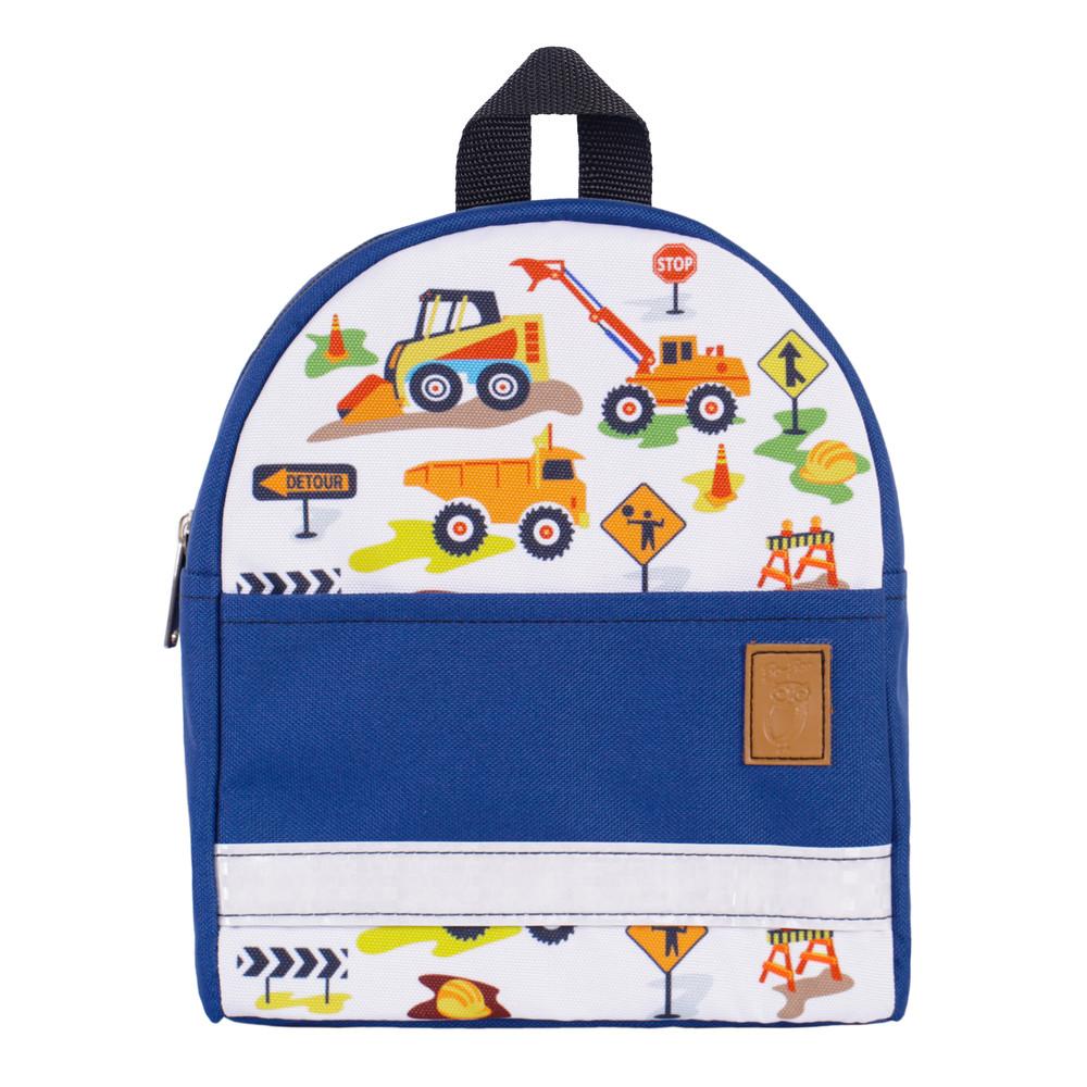 Детский рюкзак экскаватор синий/чёрный тм zo-zoo фото №1