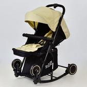 Джой 609 коляска детская прогулочная с функцией качания Joy