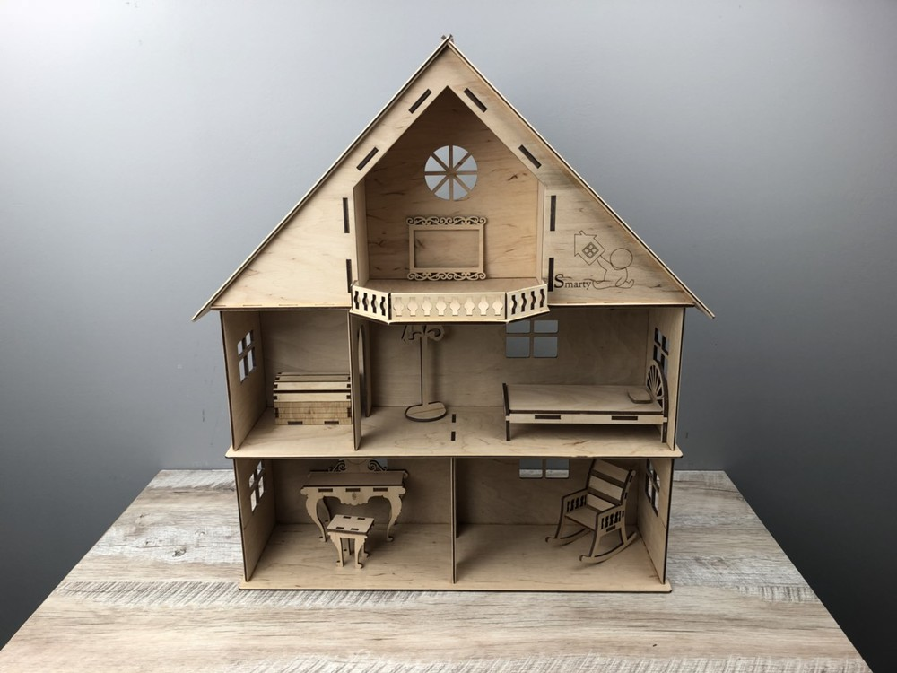 Кукольный домик для барби, лол, монстер хай, winx, ляльковый будиночок фото №1