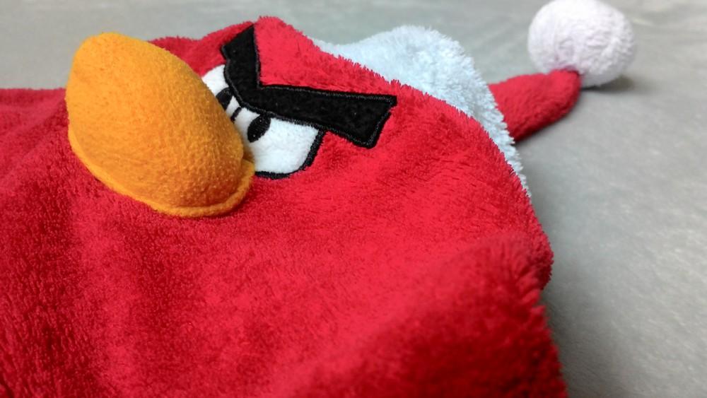 Новогодний red из angry birds. состояние отличное!) фото №7