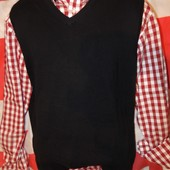 Стильная фирменная кофта свитр безрукавка бренд Canda (Канда) Германия .л .