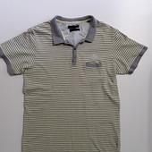 Фирменная тенниска поло футболка L