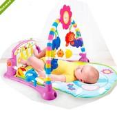 Развивающий музыкальный коврик для младенца РА518(2 цвета)