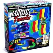 ХИТ!Гибкий светящийся трек дорога Magic Tracks 220 деталей меджик трек