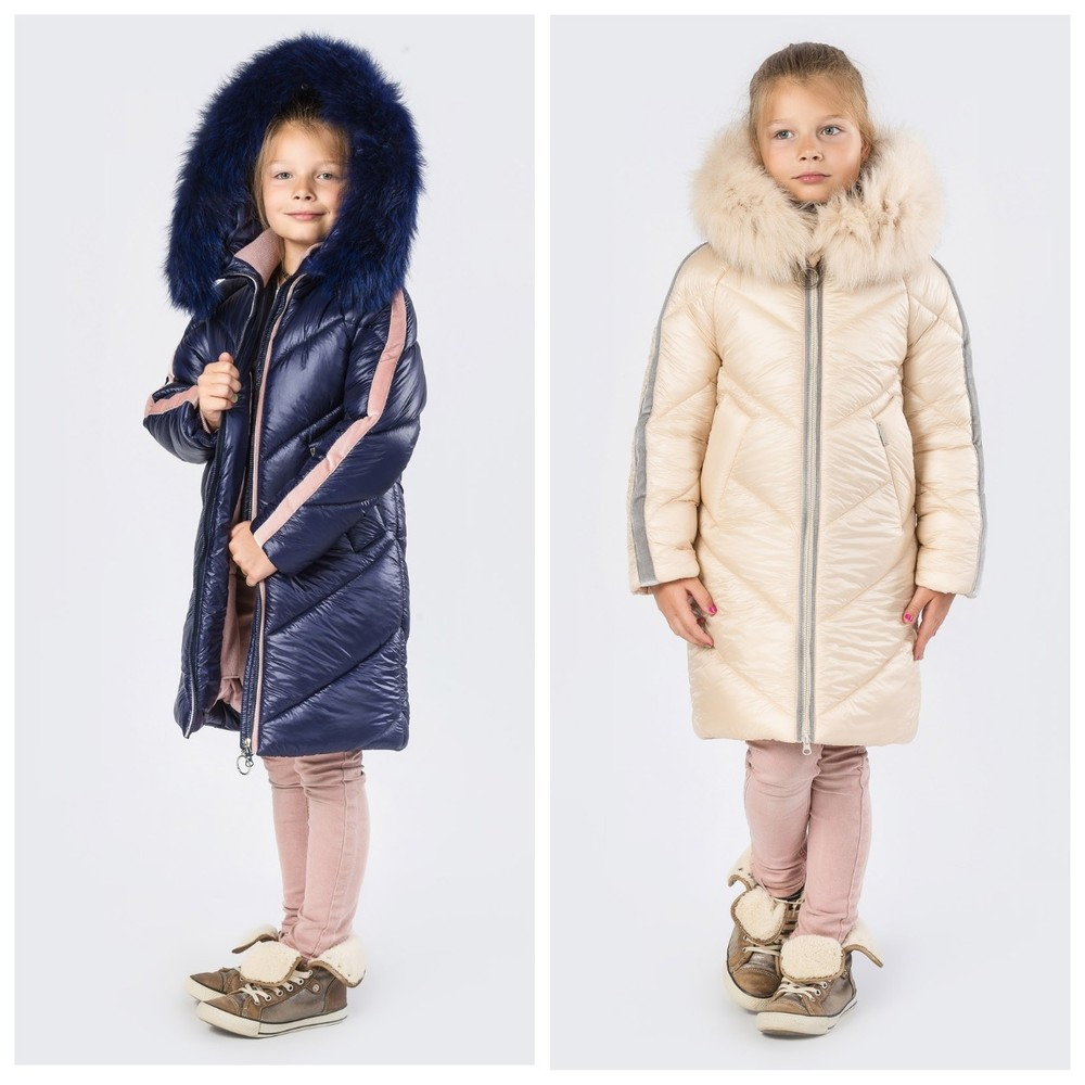 e3a3d4c8d5c Зимнее пальто с натуральным мехом x-woyz dt-8267 116-170 р.