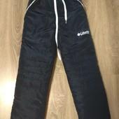 Теплые зимние штаны на флисе 122-146 размер