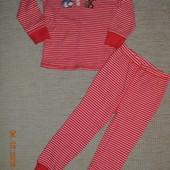 Нові натуральні піжами NEXT для дівчат розм. 2-3 р./98 см.  в наявності