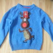 Новый фирменный свитер TU  малышу 3-4 года
