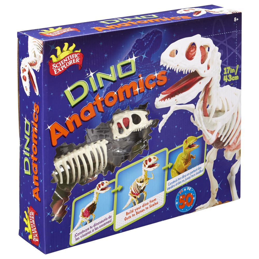 Набор анатомия динозавра от scientific explorer фото №1