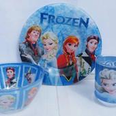 Набор детской посуды Фрозен (Эльза / Холодное сердце)
