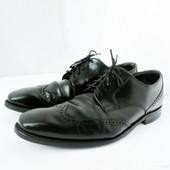 Стильные классические мужские фирменные туфли Loake.  Размер 8/42.