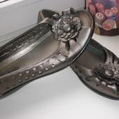 Фирменные туфли балетки Jane Austin р.5(37-38), стелька 24,5см