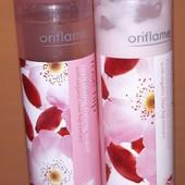 Набором!( очищающее молочко + тонизирующий тоник)  шиповник,  Oriflame, вышли сроки