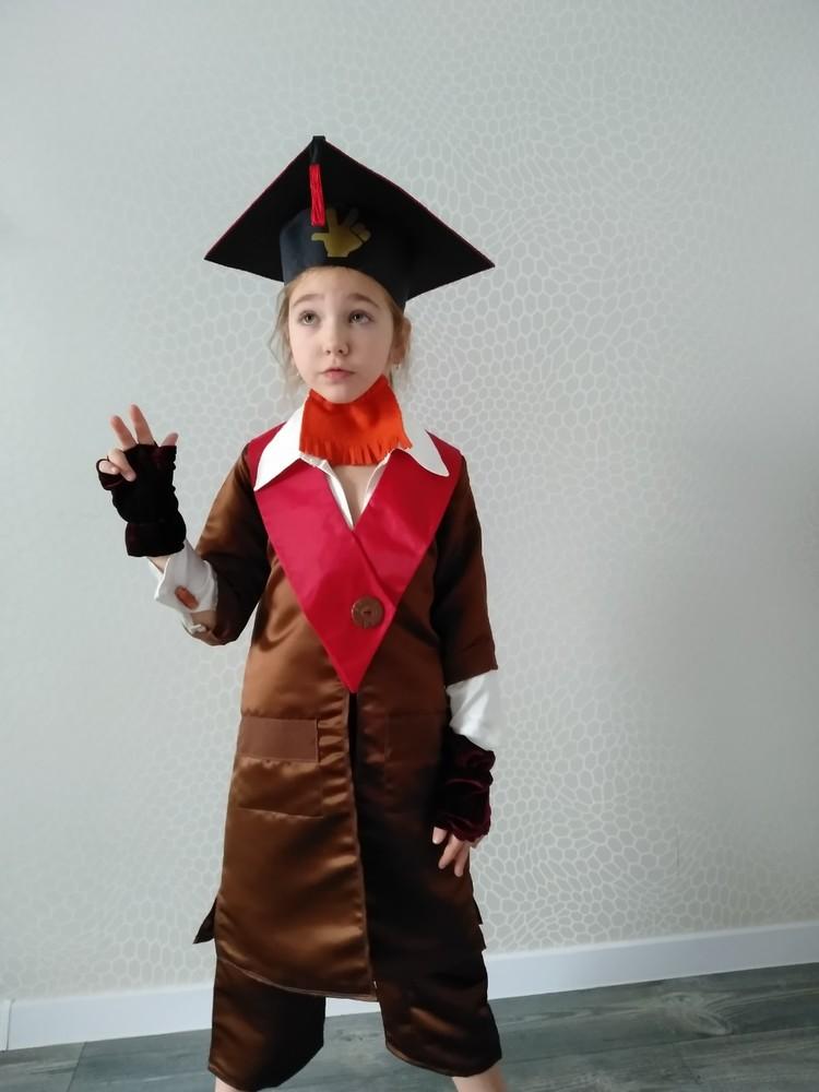 Прокат детский карнавальный, маскарадный костюм дедус фиксики фиксик-долгожитель на утренник фото №1