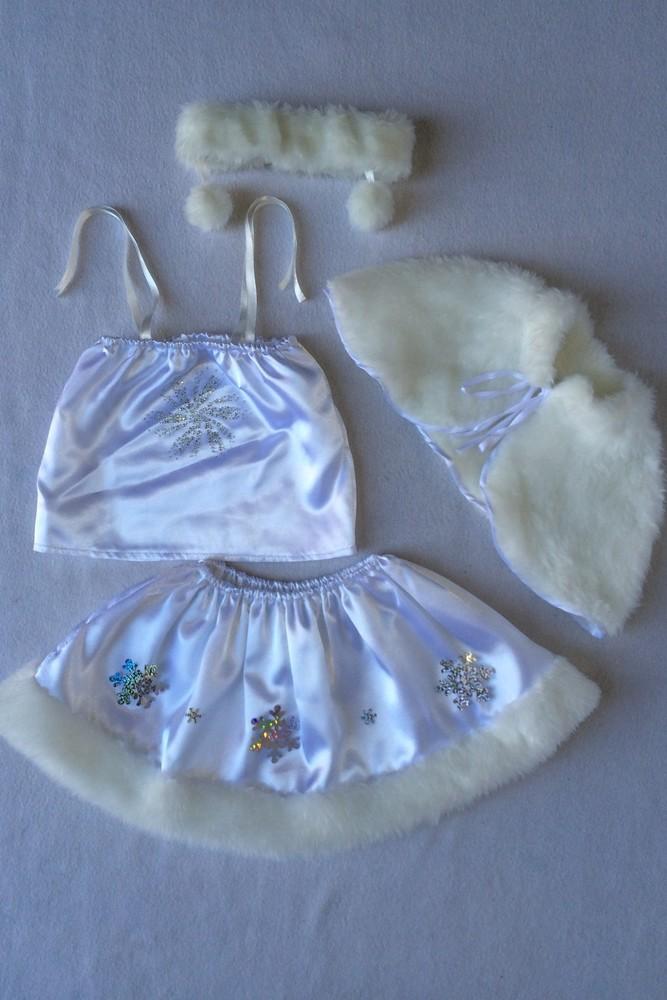 Снежинка,новогодний, карнавальный костюм для девочки в трех вариантах. фото №9