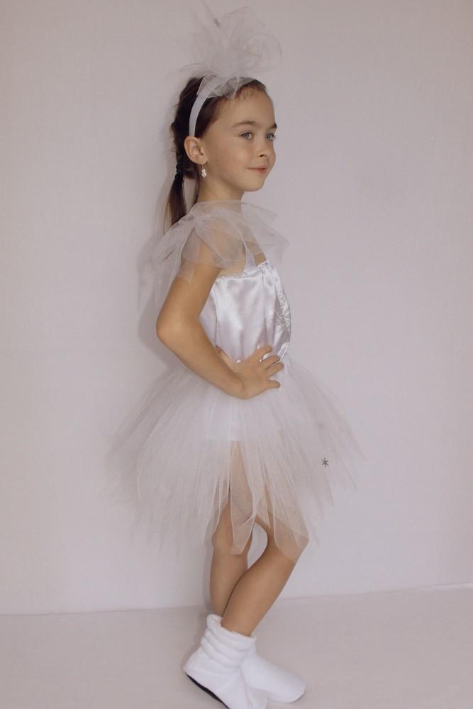 Снежинка,новогодний, карнавальный костюм для девочки в трех вариантах. фото №11
