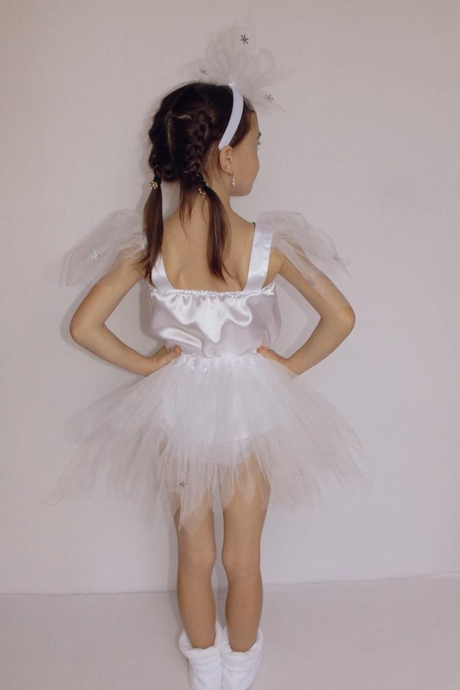 Снежинка,новогодний, карнавальный костюм для девочки в трех вариантах. фото №12
