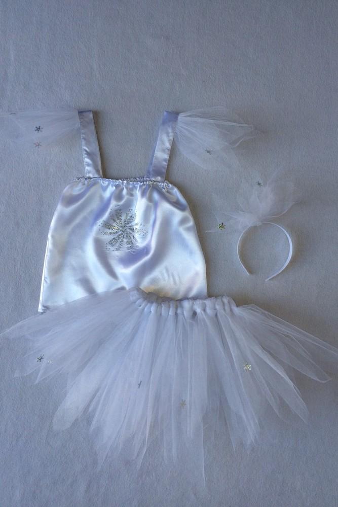 Снежинка,новогодний, карнавальный костюм для девочки в трех вариантах. фото №13
