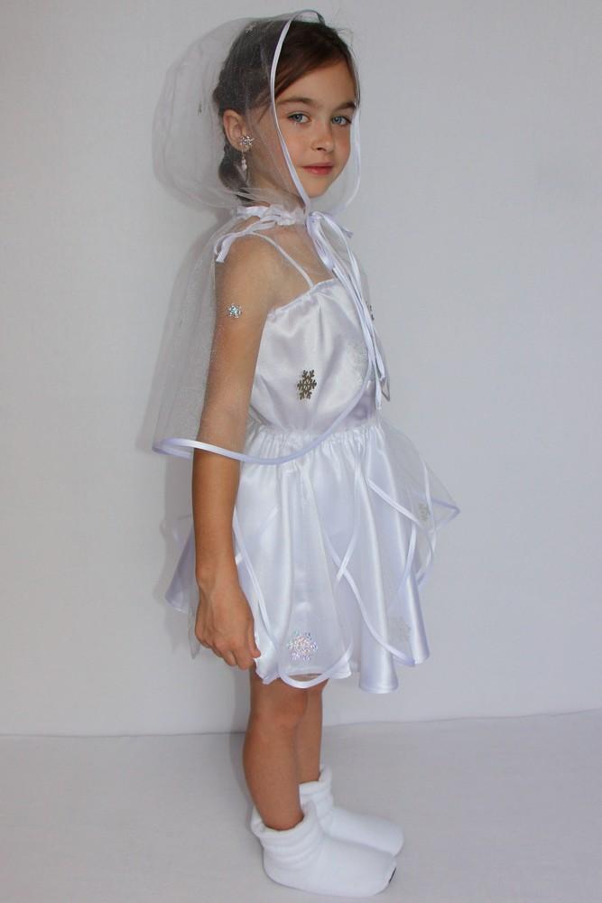 Снежинка,новогодний, карнавальный костюм для девочки в трех вариантах. фото №2