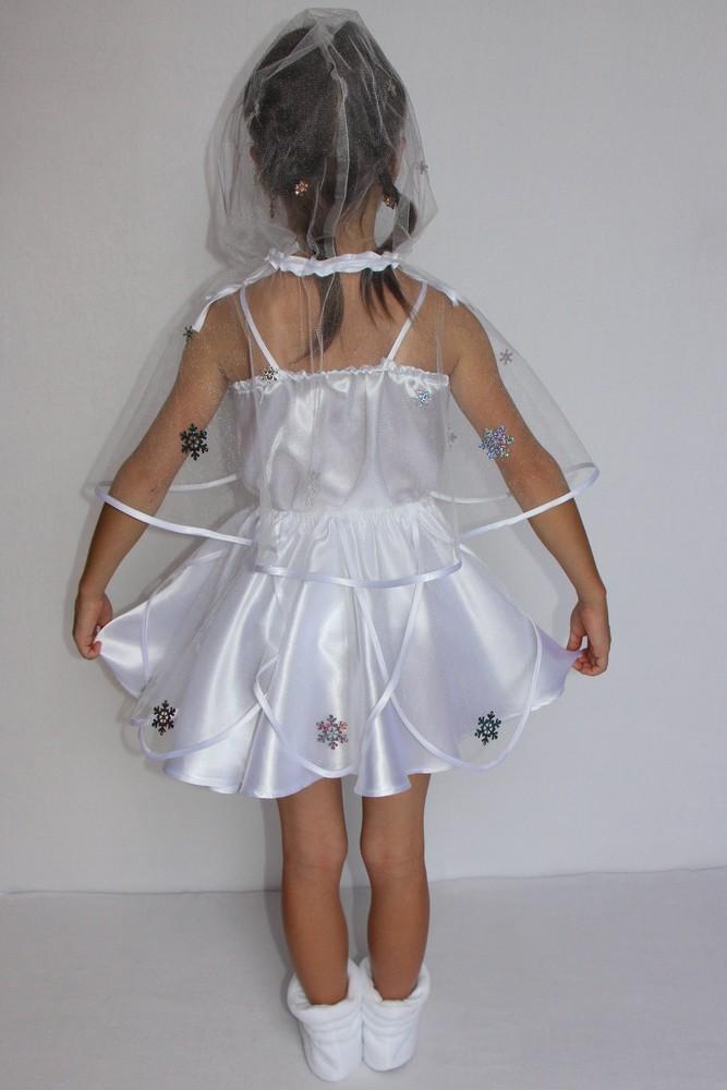 Снежинка,новогодний, карнавальный костюм для девочки в трех вариантах. фото №3