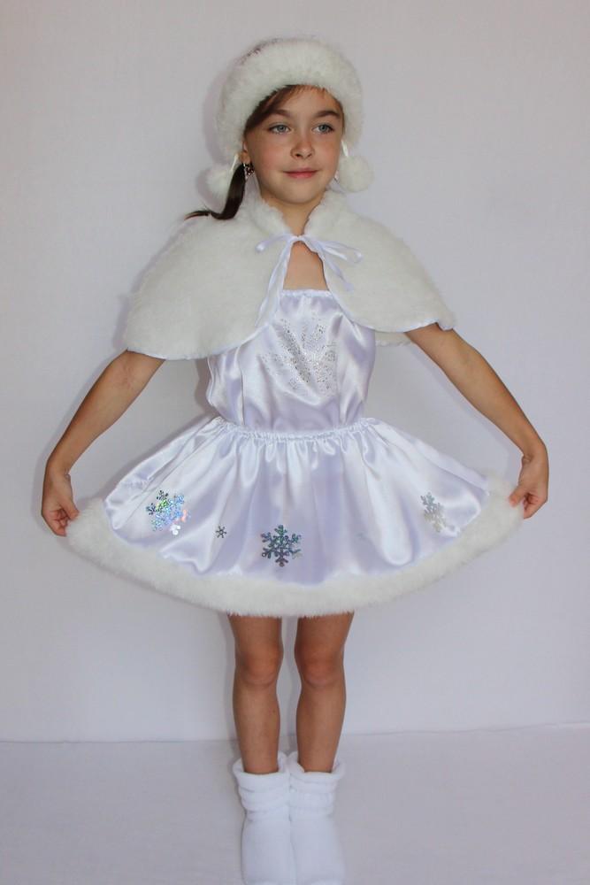 Снежинка,новогодний, карнавальный костюм для девочки в трех вариантах. фото №5