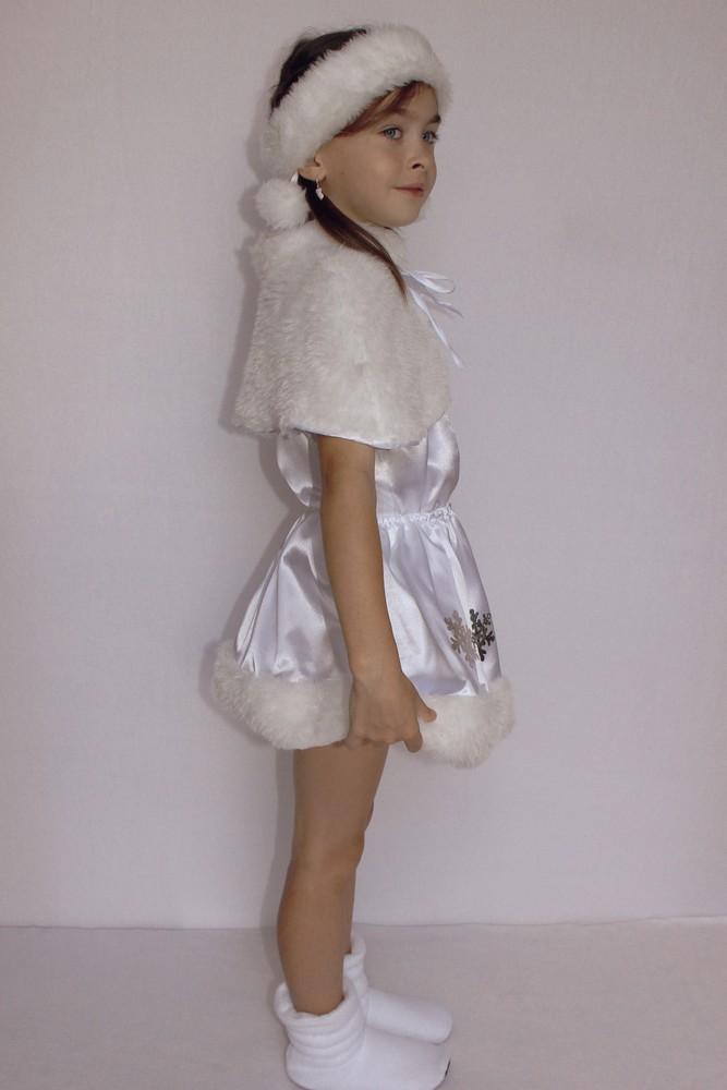 Снежинка,новогодний, карнавальный костюм для девочки в трех вариантах. фото №6