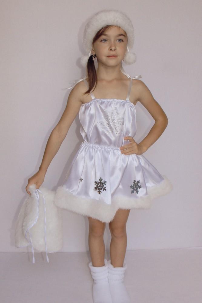 Снежинка,новогодний, карнавальный костюм для девочки в трех вариантах. фото №7