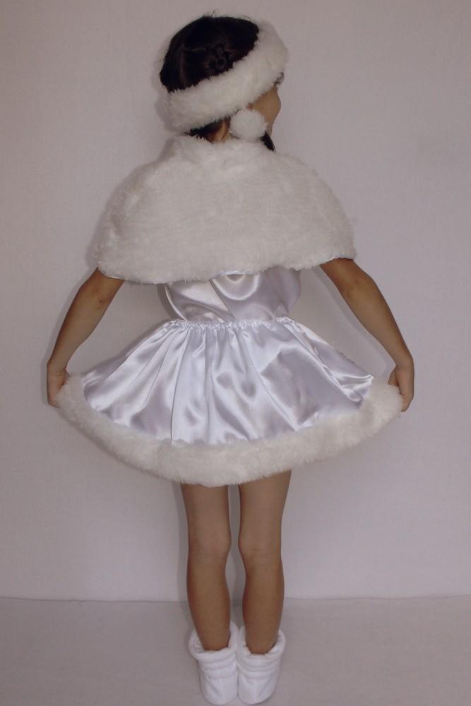 Снежинка,новогодний, карнавальный костюм для девочки в трех вариантах. фото №8