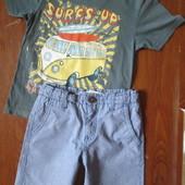 футболка+шорты 5 лет