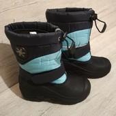 р.28, сноубутсы на мороз и слякоть термо-ботинки, в идеале