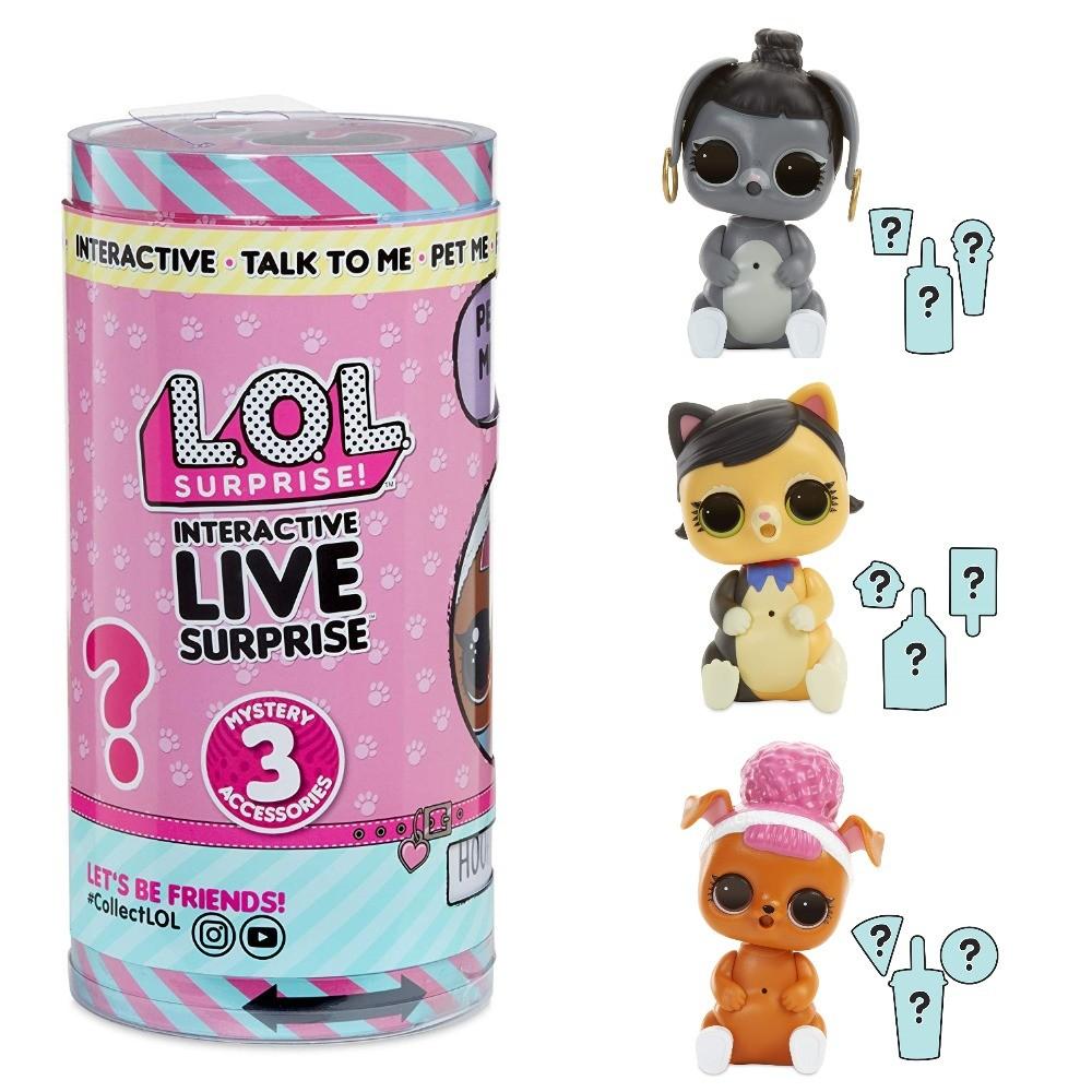 Интерактивная игрушка lol surprise серия live pet лол сюрприз настоящий любимец фото №1