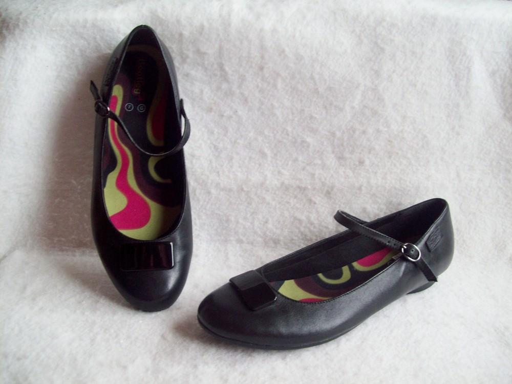 Туфли балетки кожа, стелька 26,7 см. фото №1