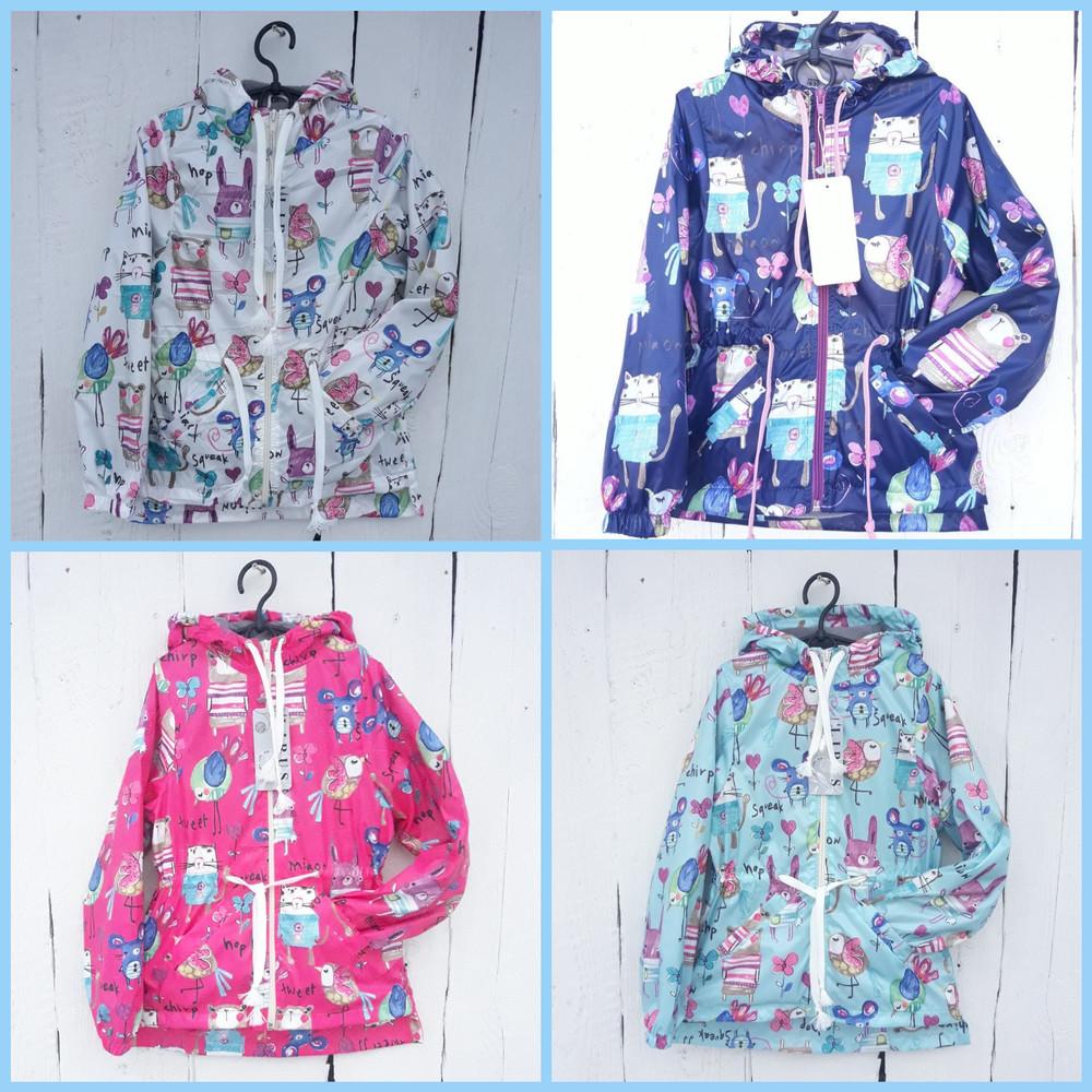 Ветровка куртка на девочку демисезонная куртка  фото №1