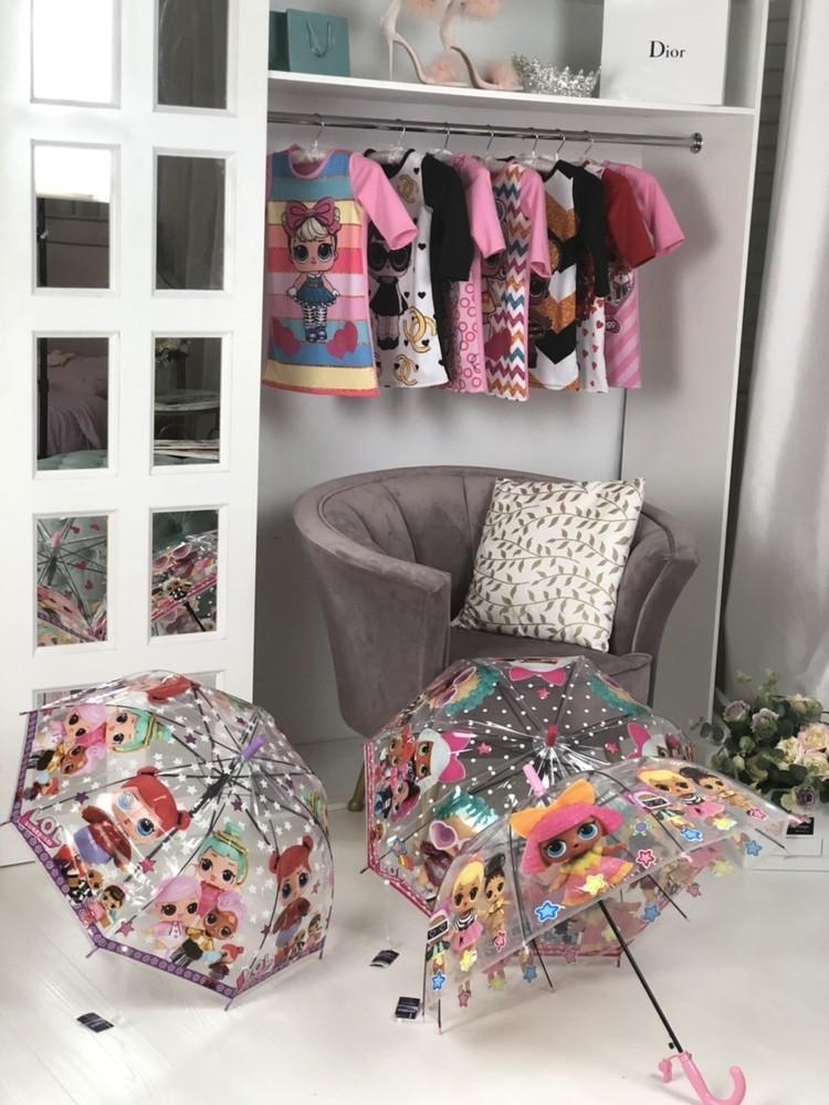 Стильные зонтики лол для девочек от производителя фото №1