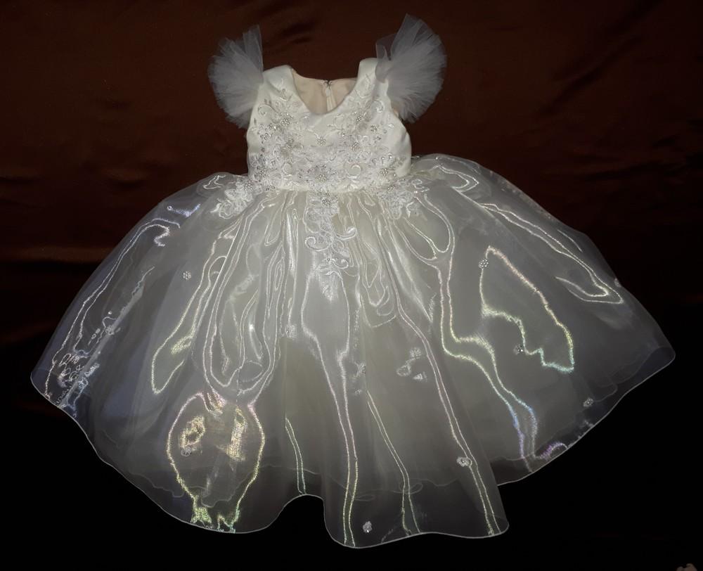 Нарядное платье на годик фото №1