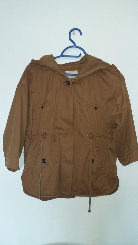 Куртка-вітровка pull&bear (рукав 3/4), р. м фото №1