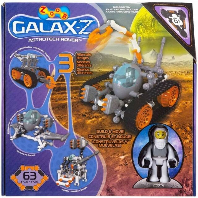 "Конструктор zoob ""galax-z astrotech rover"" фото №1"