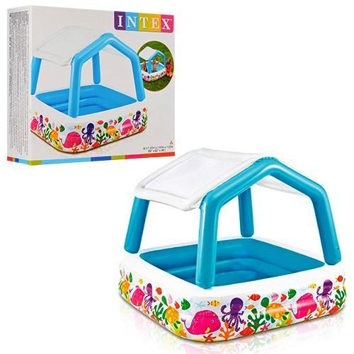 Детский бассейн надувной intex 57470 фото №1
