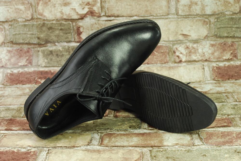 04bee364f Акция! распродажа! мужские туфли viva вива классика черные натуральная кожа  повседневные фото №6