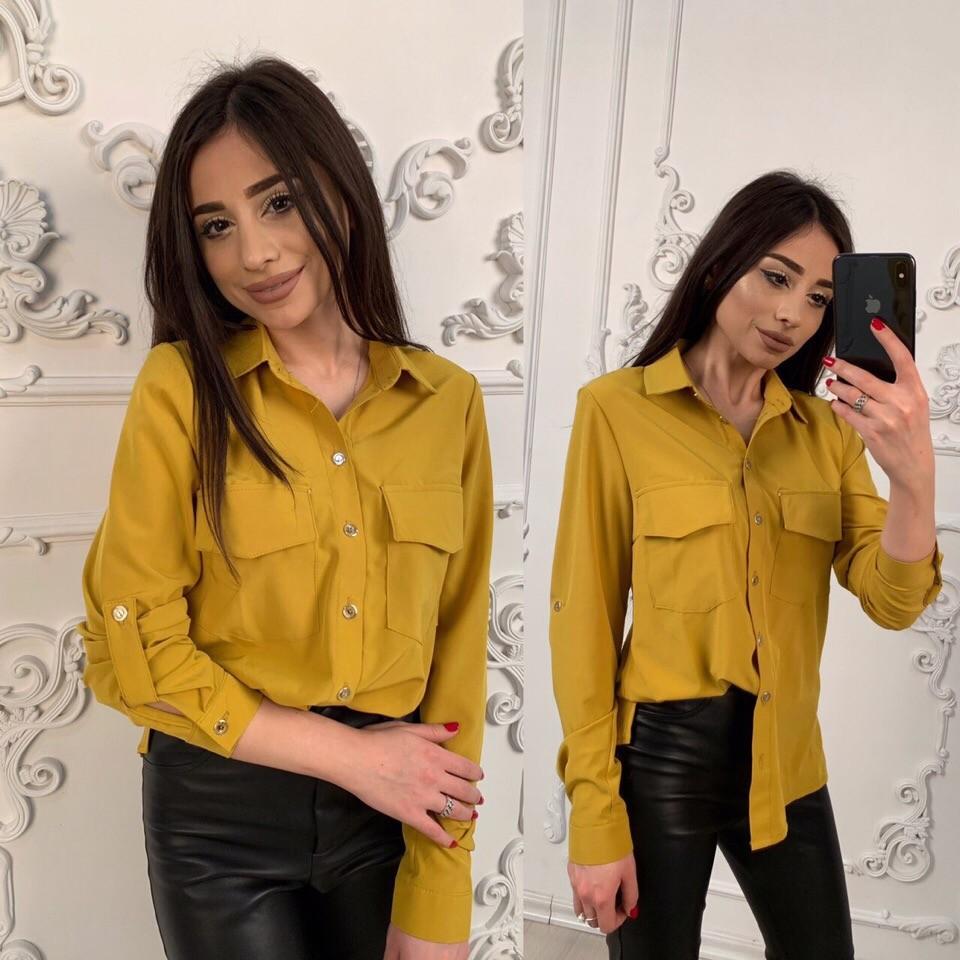 Стильные рубашки-блузки,фото в живую,стильные и легенькие фото №1