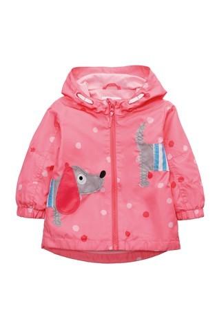 Яскрава куртка вітровка next з таксою для дівчат розм. 0-7 р. під замовлення фото №1