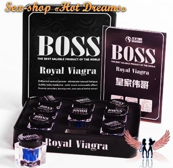 Королевская виагра босс «boss royal viagra» для увеличения потенции фото №1
