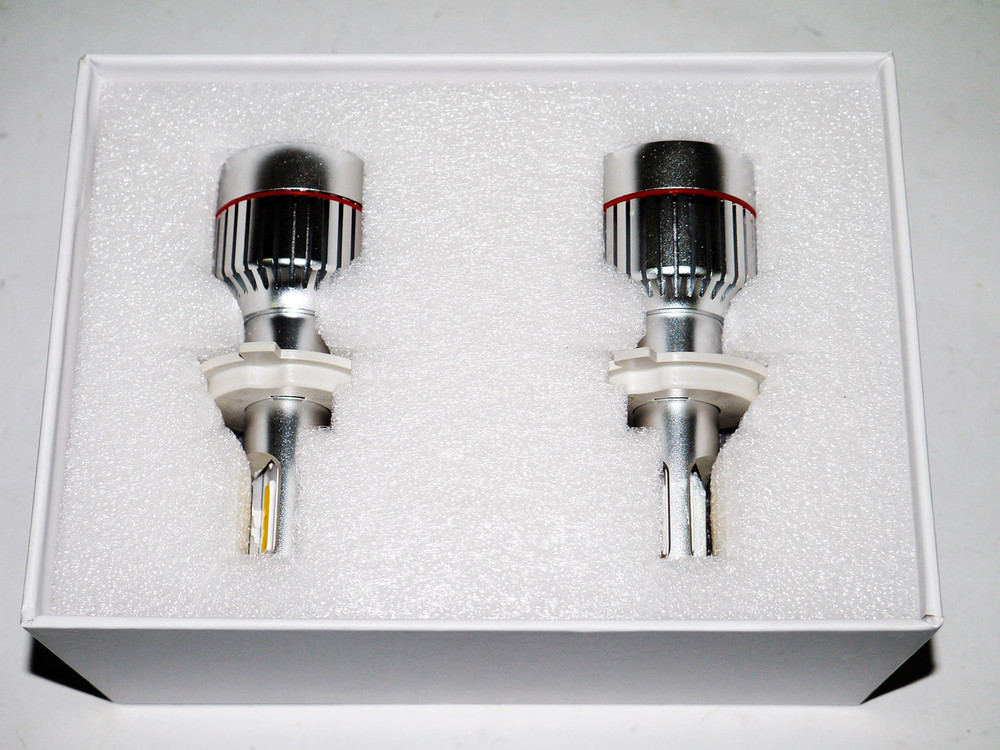Светодиодные лампочки h4 led 33w 12v фото №1