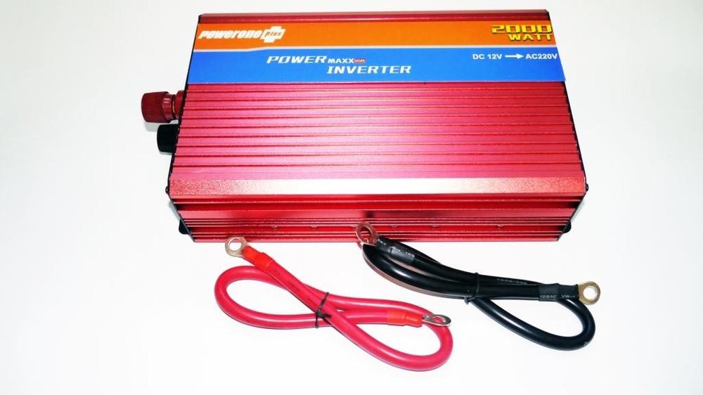 12v-220v 2000w преобразователь авто инвертор с функцией плавного пуска фото №1