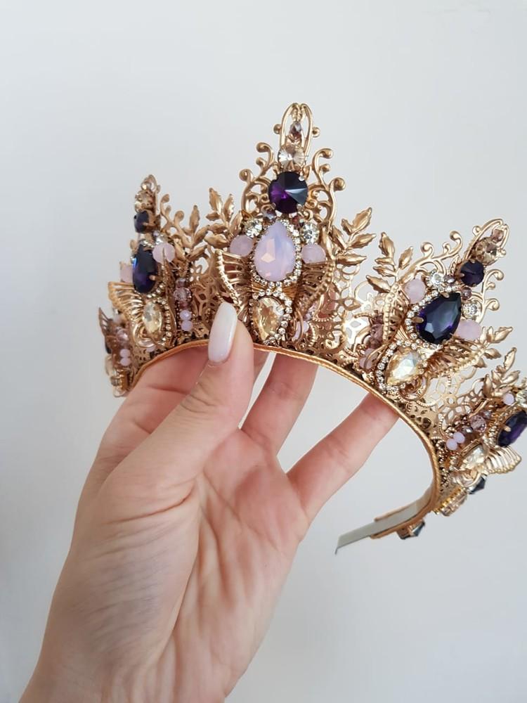 Дизайнерская корона фото №1
