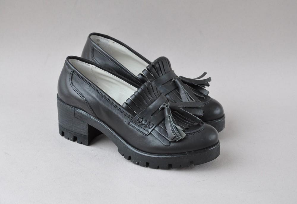 Туфли лоферы 38,39р италия фото №1