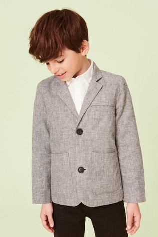 Лляний піджак next для хлопців розм. 12 міс.-16 років під замовлення фото №1